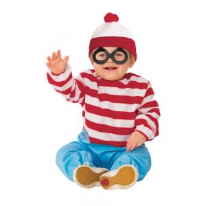 Where's Waldo Toddler Onesie Costume