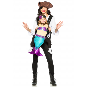Adult Pirate and Mermaid Toddler Mommy and Me Costume