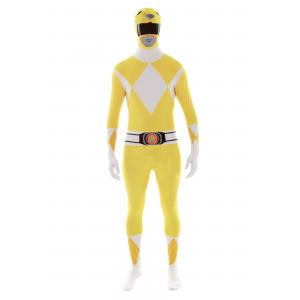 Power Rangers: Yellow Ranger Morphsuit Costume
