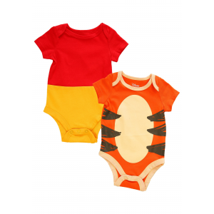 Winnie The Pooh and Tigger Onesie Infant 2 Pack