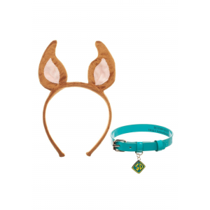 Scooby Doo Cosplay Collar and Headband Set