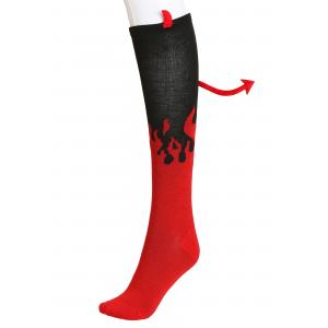 Devil Knee High Womens Socks