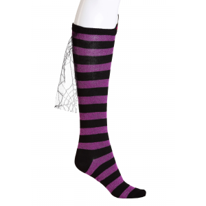 Novelty Witch Knee High Socks