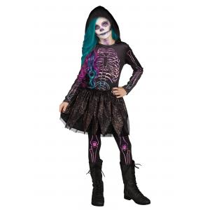 Galaxy Skeleton Costume for Girls