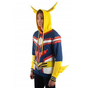 My Hero Academia All Might Character Hoodie for Adults