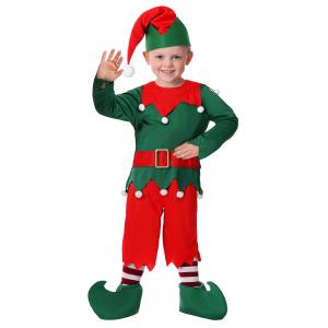 Toddler Boy's Santa's Helper Costume