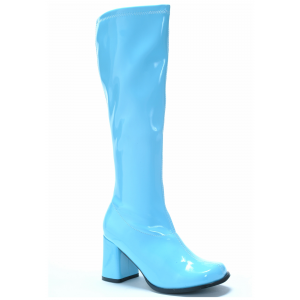 Blue Gogo Boots