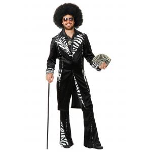 Plus Size Mac Daddy Pimp Costume 3X