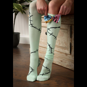 Nightmare Before Christmas Sally Over The Knee Socks For Women