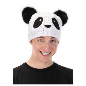 Panda Knit Unisex Beanie