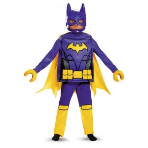 Girls Batgirl Lego Movie Deluxe Child Costume