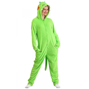 Nickelodeon Rugrats Reptar Adult Union Suit