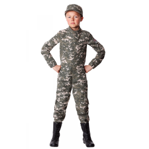 Boy's Modern Combat Soldier Costume