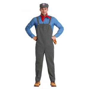 Train Engineer Costume for Adults