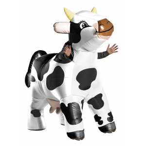Inflatable Cow Adults Costume