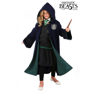 Child Harry Potter Hogwarts Slytherin Robe