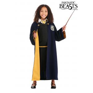 Vintage Hogwarts Child Hufflepuff Robe