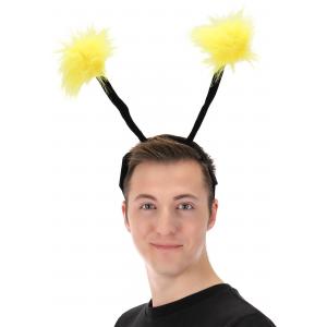 Light Up Pom Antennae LumenEars Headband