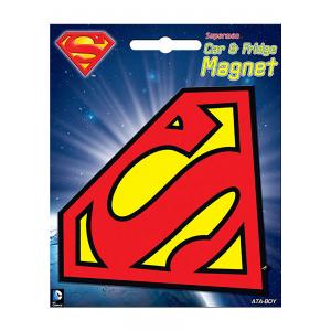 DC Superman Logo Car Magnet