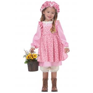 Little Prairie Girl Costume for Toddlers