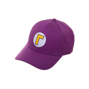 Waluigi Flex Fit Hat