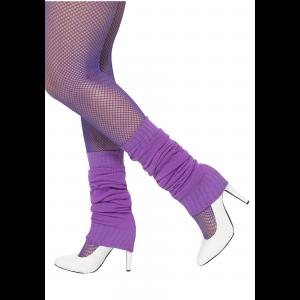 Purple Leg Warmers for Women