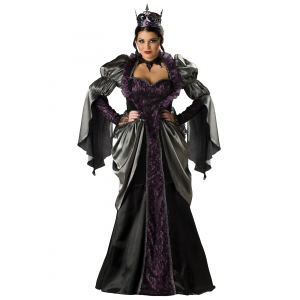 Plus Size Wicked Queen Costume 2X 3X