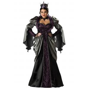 Plus Size Wicked Queen Costume 2X 3X