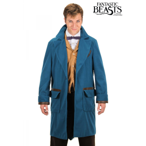 Newt Scamander Coat Costume Fantastic Beasts and Where to Find Them