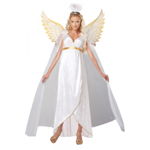 Plus Size Adult Guardian Angel Costume 1X 2X 3X