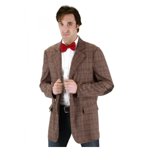 Doctor Who Mens 11th Doctor Jacket Costume
