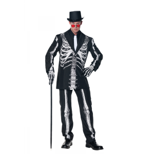 Bone Daddy Skeleton Suit Costume