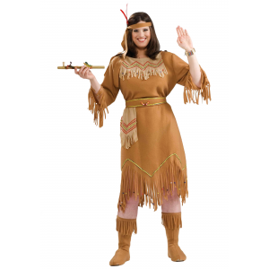 Plus Size Native American Costume 1X 2X