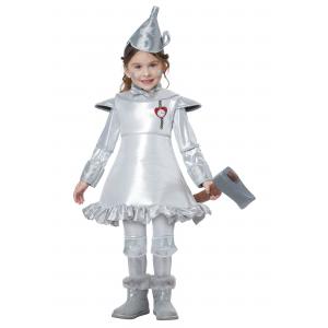 Tin Man Costume for Toddler Girls