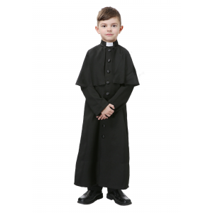 Deluxe Priest Costume for Boys