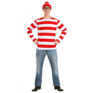 Where's Waldo Costume - Exclusive Sizes Available