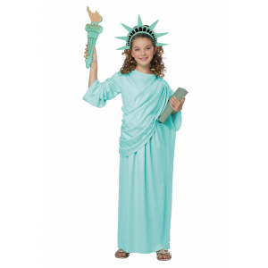 Statue Of Liberty Costume for Girls