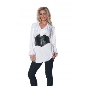 Ruffled Pirate Costume Costume Blouse
