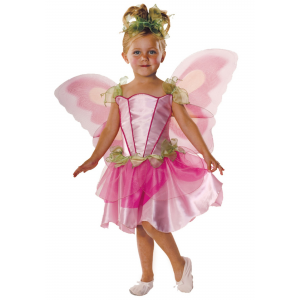 Child Springtime Fairy Costume - Pink Fairy Toddler Costumes