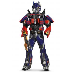 Adult Authentic Optimus Prime Costume w/ Vacuform