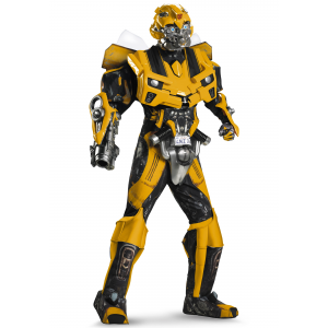 Adult Authentic Bumblebee Costume w/ Vacuform