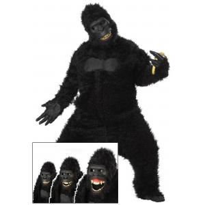 Adult Goin Ape Gorilla Costume