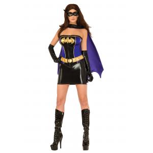 Women's Deluxe Batgirl Corset Costume