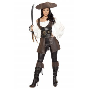 Women's Deluxe Swashbuckler Costume