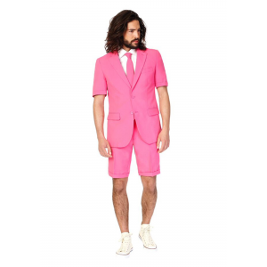 OppoSuits Mr. Pink Summer Suit Men's Costume