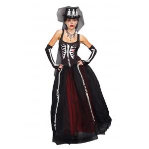 Women's Ms. Bones Costume