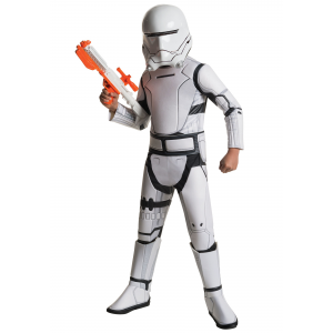 Child Deluxe Star Wars The Force Awakens Flametrooper Costume