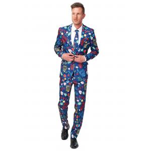 Men's SuitMeister Basic Vegas Suit Costume
