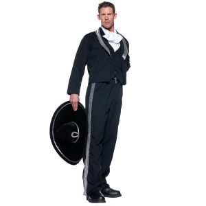 Men's Plus Size Mariachi Costume 2X