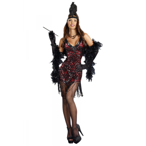 Women's Dames Like Us Flapper Costume